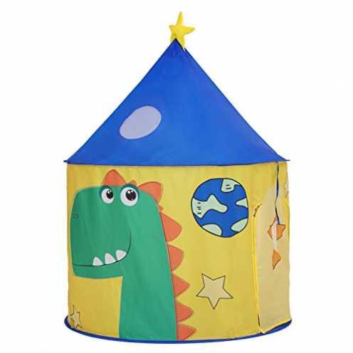 nachhaltig SONGMICS Spielzelt für Kleinkinder, Spielhaus für innen und außen, tragbares Pop-up Ind... ökologisch