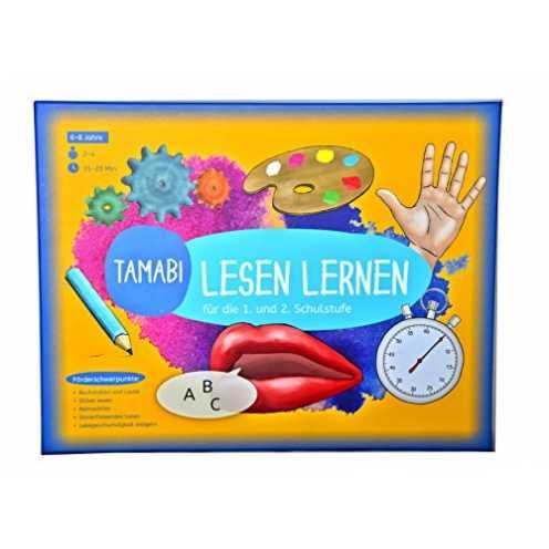 nachhaltig Spielerisches Lesetraining-Lesen lernen Spiel: Buchstaben lernen, Silben und erste Wörter lesen und mit Spaß flüssig ... ökologisch