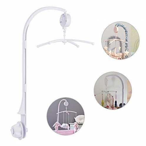 nachhaltig TBoonor Baby Spieluhr Musikmobile Baby Krippe Mobile Bett Glocke mit Halter Arm Halterunund für Babybett und Kinderbe... ökologisch