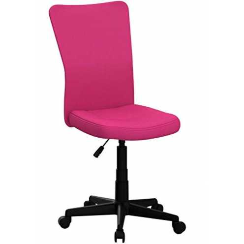 nachhaltig TecTake Bürostuhl Drehstuhl Schreibtischstuhl - Diverse Farben - (Pink | Nr. 401792) ökologisch