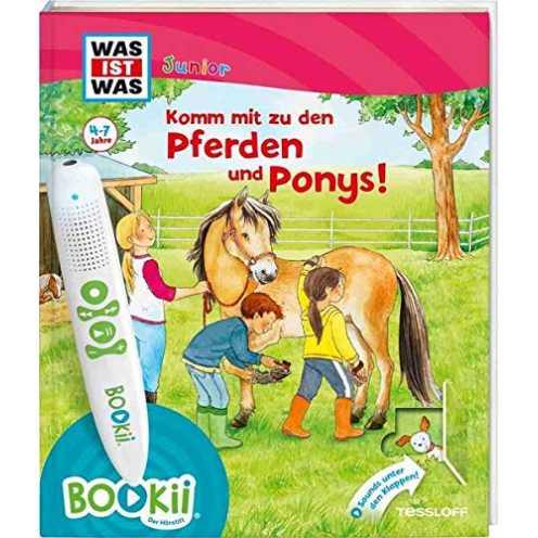 nachhaltig BOOKii® WAS IST WAS Junior Komm mit zu den Pferden und Ponys!: Über 650 Hörerlebnisse und interaktive Spiele! (BOOKii... ökologisch