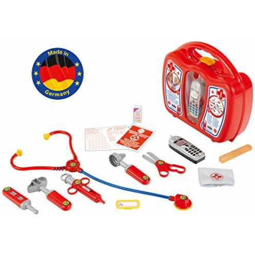 nachhaltig Theo Klein 4350 - Arztkoffer mit Handy, Spielzeug ökologisch