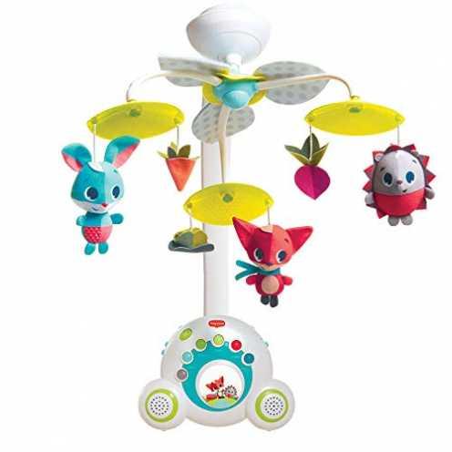 nachhaltig Tiny Love Baby-Mobile, hochwertiges 2-in-1 Musik-Mobile mit 18 wundervollen Melodien und 40 Min. Spieldauer, auch als... ökologisch