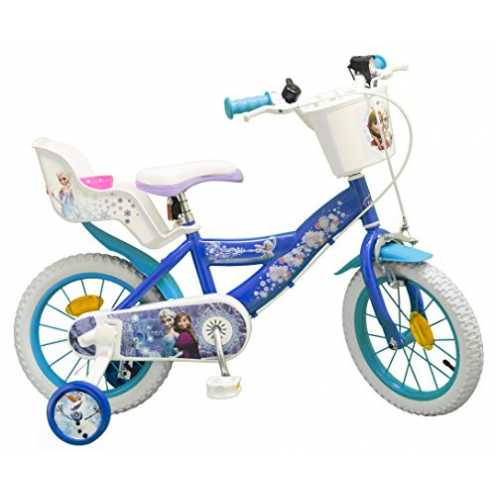 "nachhaltig TOIMS Eiskönigin Fahrrad Kind 14"" ökologisch"