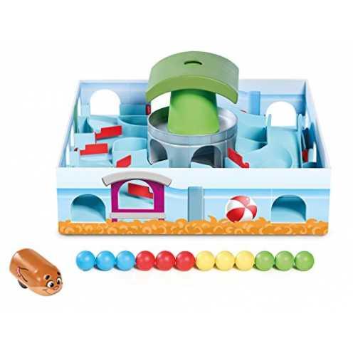 nachhaltig TOMY Hamsterrennen - Geschicklichkeitsspiel für die ganze Familie - Klassisches Labyrin... ökologisch