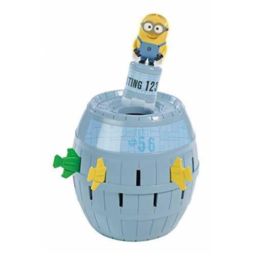 """nachhaltig TOMY Kinderspiel """"Pop Up Minions"""" - hochwertiges Aktionsspiel für die ganze Familie aus... ökologisch"""