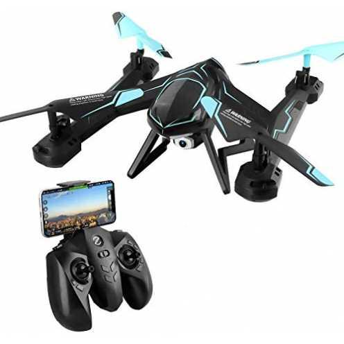 nachhaltig TOYEN RC Drohne 2,4 GHz FPV WiFi Fernbedienung Quadcopter mit 720P HD 2MP Kamera ökologisch