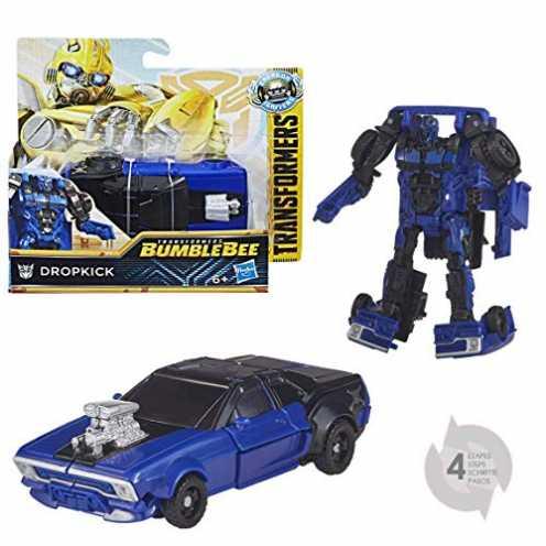 nachhaltig Transformers E0753ES0 Movie 6 Energon Igniters Power Basis Figur Dropkick, Actionfigur ökologisch