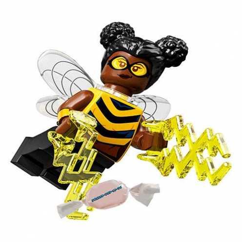 nachhaltigUnbekannt Lego® 71026 Minifigures Minifiguren DC Super Heroes Figur Bumblebee + Sticker-und-co-de Bonbon ökologisch