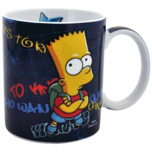 nachhaltig United Labels 0109507 - Simpsons Tasse - 320ml ökologisch