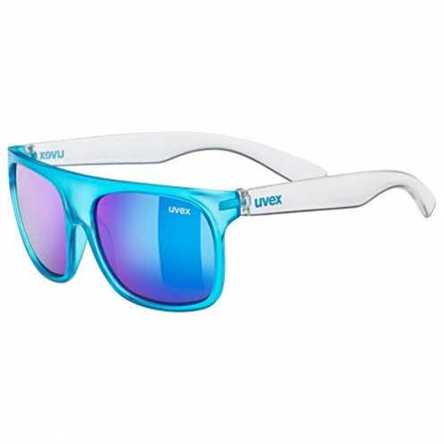 nachhaltig uvex Unisex Jugend, sportstyle 511 Sonnenbrille, blue transparent, one size ökologisch