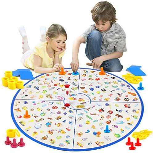 nachhaltig VATOS Brettspiel, Kartenspiel Kleiner Detektiv Tischspiel für Kinder Familien Party, Matching-Spiele Strategische Ler... ökologisch