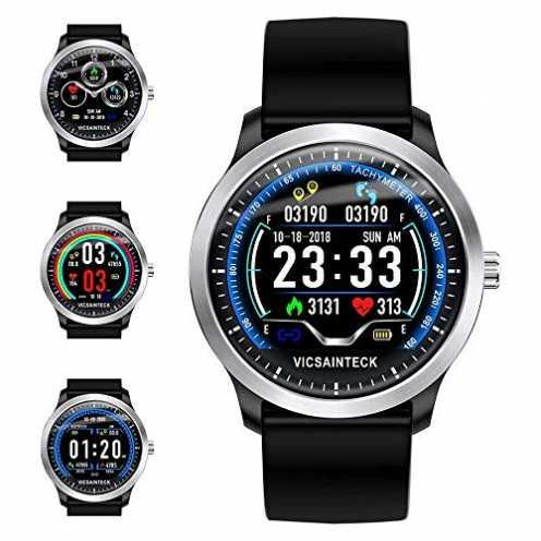 nachhaltig Smartwatch, Fitness Armband Sportuhr Smart Watch Mit Pulsmesser Schlafmonitor Schrittzä... ökologisch
