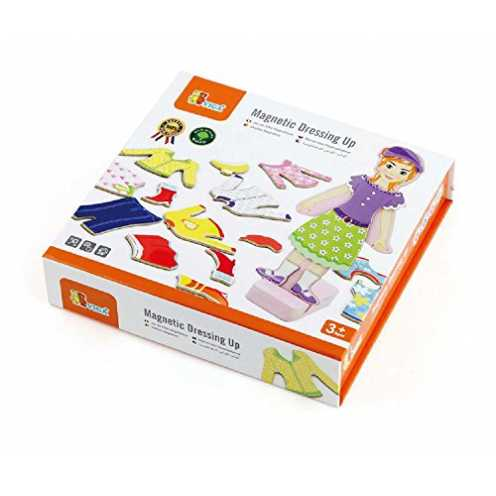 nachhaltig VIGA NCT 0617 - Magnet Ankleidespiel - Mädchen ökologisch