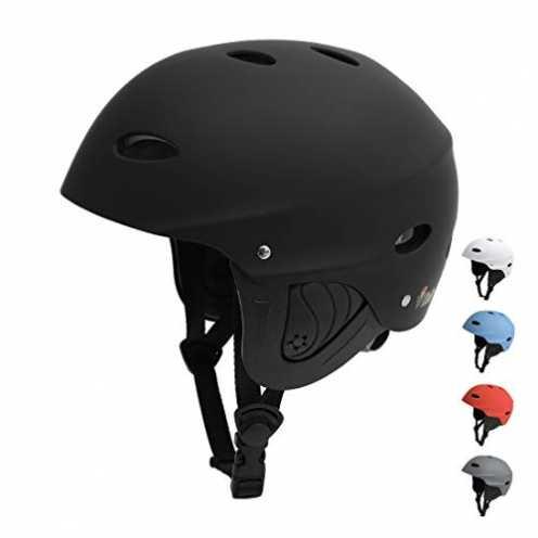 nachhaltig Vihir BMX Helm Wakeboard Helm Skaterhelm Fahrradhelm Herren Damen Jungs & Kinderhelm Wassersport Helm mit Ohrenschütz... ökologisch