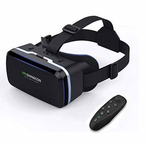 nachhaltig VR Brille KAMLE 3D VR Headset - für 3D Filme und Spiele,Video Movie Game Brille 3D VR B... ökologisch