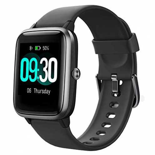 nachhaltig Willful Smartwatch,1.3 Zoll Touch-Farbdisplay Fitness Armbanduhr mit Pulsuhr Fitness Tr... ökologisch
