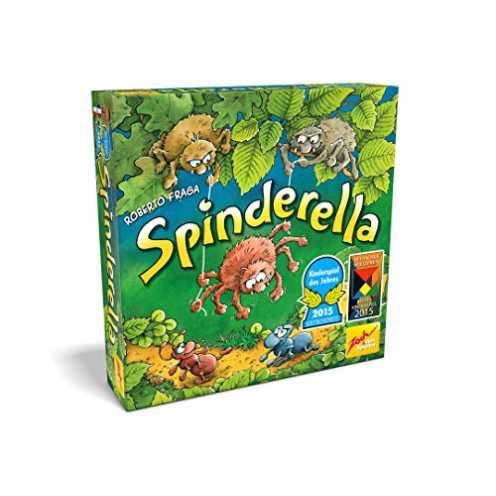 nachhaltig Zoch 601105077 Spinderella, Kinderspiel des Jahres 2015 ökologisch