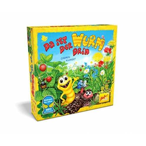 nachhaltig Zoch 601132100 601132100-Da ist der Wurm drin, Kinderspiel des Jahres 2011 ökologisch