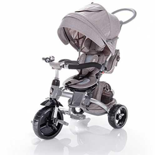 nachhaltig Zopa Kinderdreirad citiGO - Dreirad (Farbe: Pearl Grey) ökologisch
