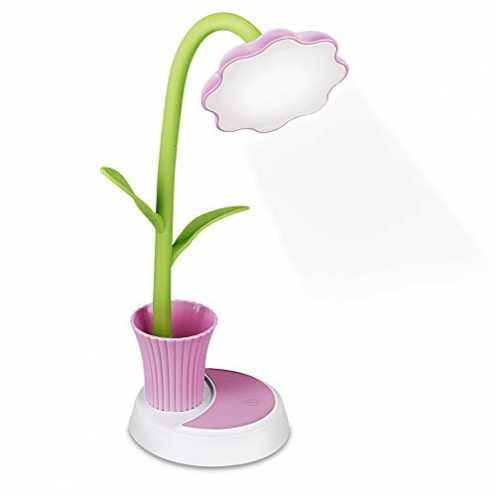 nachhaltig Zorara Schreibtischlampe für Kinder,Dimmbare Nachttischlampe mit Touchsensor, Augenfreu... ökologisch